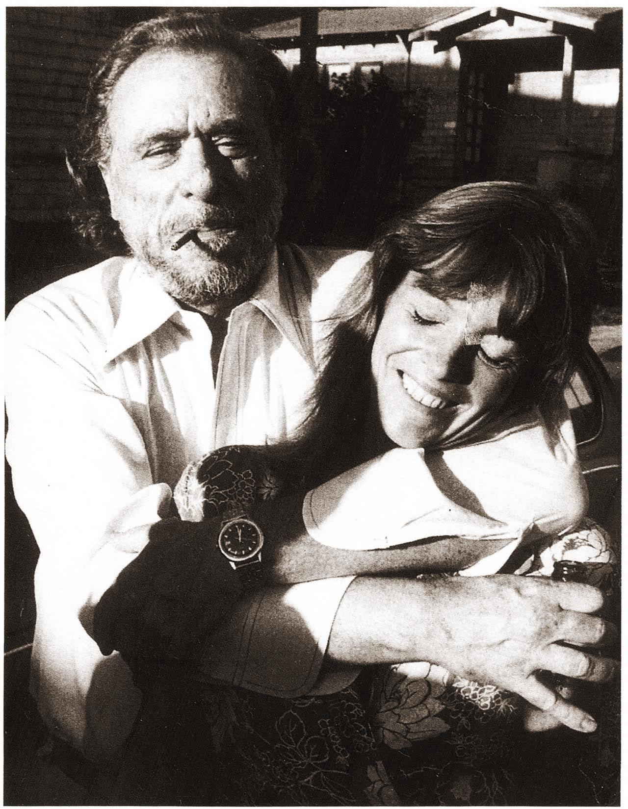 Charles Bukowski & Jane Cooney Baker